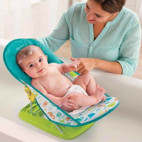 deluxe baby bather folding bath sling whalin