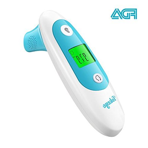 ear forehead thermometer detect fever