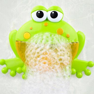 Baby Bubble Machine Big Frog- Automatic Bubble Maker Blower