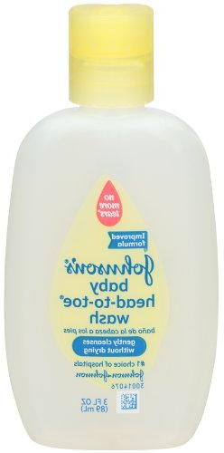Johnson;s Head-To-Toe Baby Wash, 15 Ounce