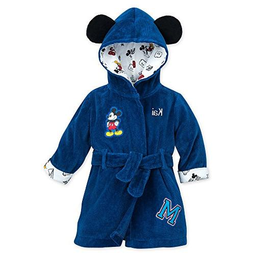 mickey mouse hooded bath robe