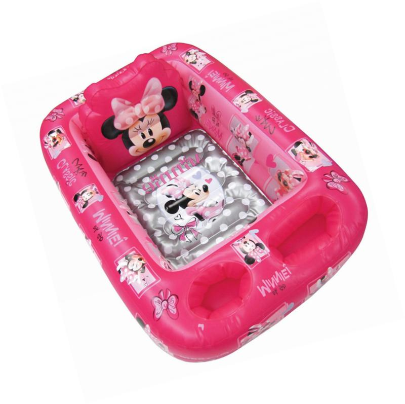 minnie mouse inflatable safety bathtub pink
