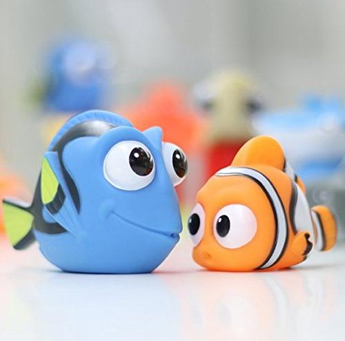 xdobo Nemo Bath Squirt Baby Dory Turtle Water Play Toddler New of 8