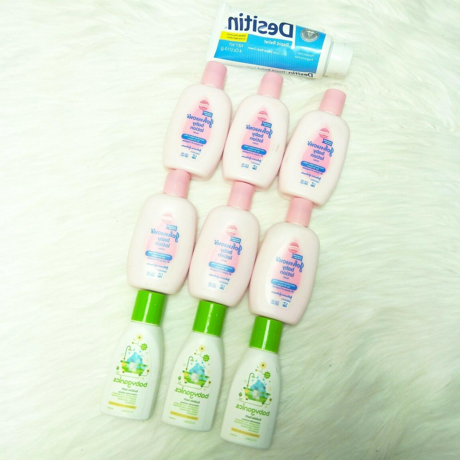 new 6 johnson s baby lotion desitin