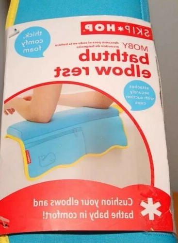 new moby bath elbow saver blue free