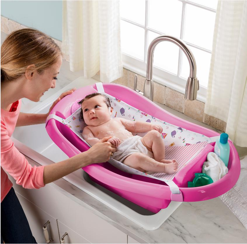 Comfy Clean to Toddler Baby Bath Tub