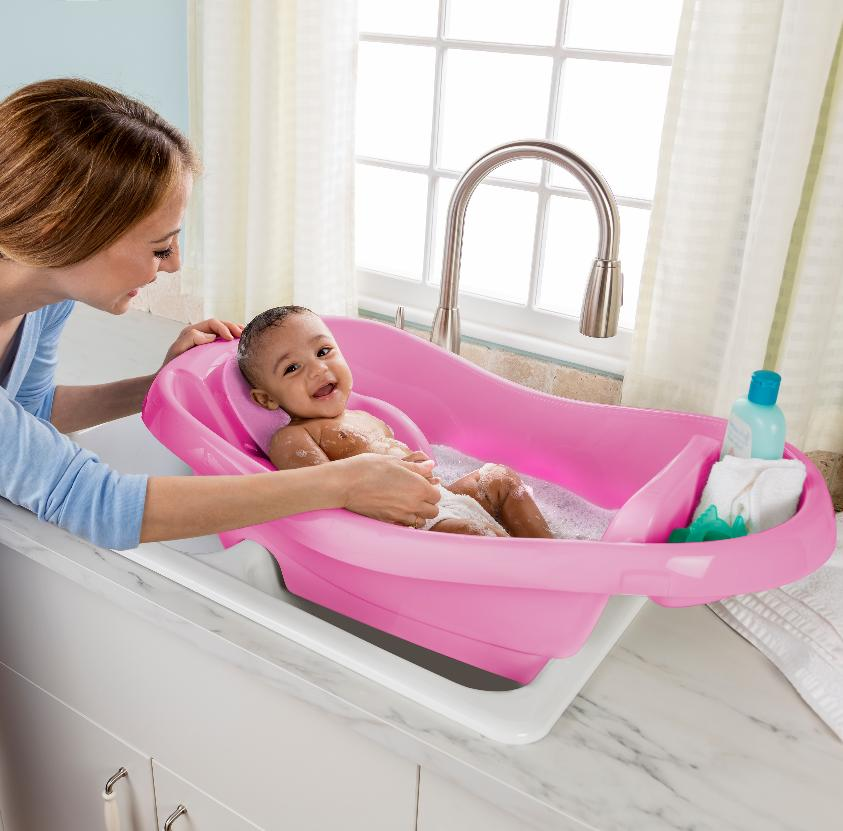 Comfy Clean to Toddler Tub
