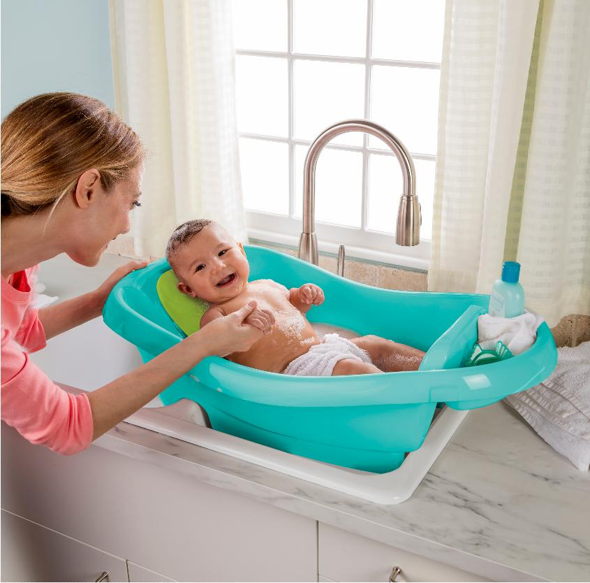 New Spacious Comfy Deluxe to Toddler Tub
