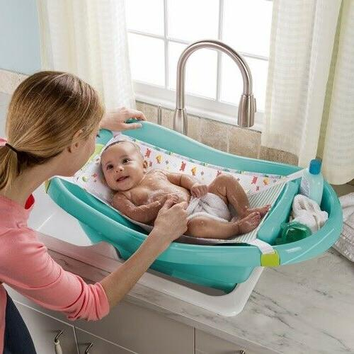 Newborn Baby Bath Summer Infant Toddler Comfy Clean Deluxe New