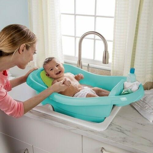 Newborn Summer Infant Toddler Clean Deluxe Teal New