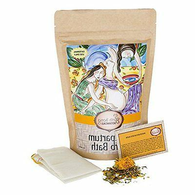 Birth Song Botanicals Postpartum Healing Herb Sitz Bath and Soak, for Soothing R