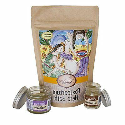 Birth Song Botanicals Postpartum Healing Bath and Soak, Soothing R