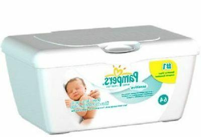 Pampers Sensitive Tub of Baby Wipes