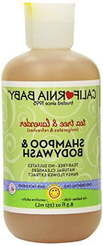 California Baby Shampoo & Body Wash - Tea Tree & Lavender, 8