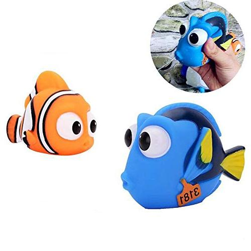 ALLCELE Baby for Squirt, Finding Dory Nemo Toddler 4pcs