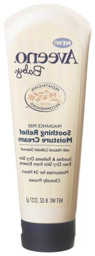 Aveeno Baby Soothing Relief Moisture Cream 8oz