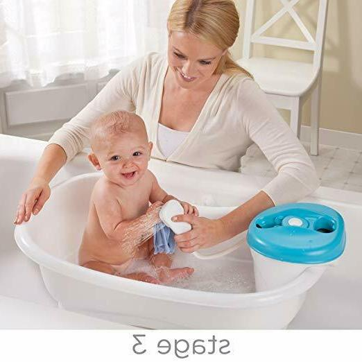 Summer Newborn Toddler Bath Shower, Blue by Summer Infant