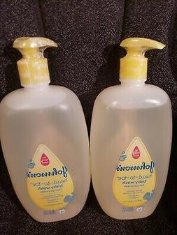 LOT 2 JOHNSON'S HEAD TO TOE BABY WASH CLEANSING WASHING BATH