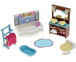 Fisher-Price Loving Family Dollhouse Living Room and Bathroo
