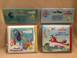 Disney Mickey Mouse & Finding Dory Bath Toys ~ Set of 2 ~ Ba
