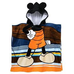 Disney Mickey Mouse Hooded Towel for Kids