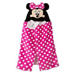 Disney Minnie Mouse Hooded Towel for Baby - Pink