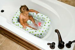 Mommy's Helper Inflatable Bath Tub Froggie Collection, White