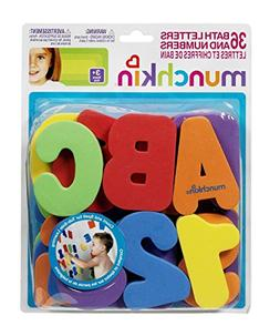 Munch Bath Letters/Number Size 1ct Munch Bath Letters/Number