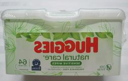 """HUGGIES Natural Care """"Sensitive"""" Baby Wipes 64 Towelettes wi"""