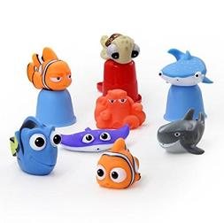 xdobo Nemo Bath Toy Squirt Disney Baby Dory Turtle Kids Wate