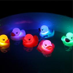 New 1PC Rubber Duck <font><b>Bath</b></font> Flashing Light