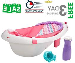 *NEW Baby Bath Tub 4in1 Sling N Seat Newborn To Toddler Soft