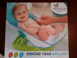 NEW! Summer Infant Deluxe Baby Bather, folding bath sling