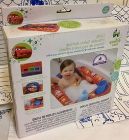 New Disney Inflatable Safety Baby Bath tub Cars Red Pool Pix