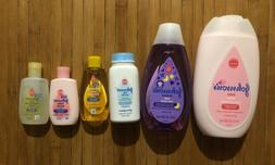 New Johnson's Baby Bath And  Skin Care Products Travel Gif