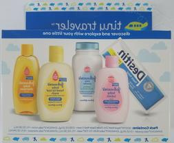 New Johnson's Tiny Traveler, Baby Bath And  Skin Care Prod