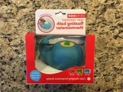 New Skip Hop Moby Floating Bath Thermometer Light Blue Whale