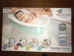 NEW~Summer Infant Right Height~Lifts & Supports Baby~4 Stage