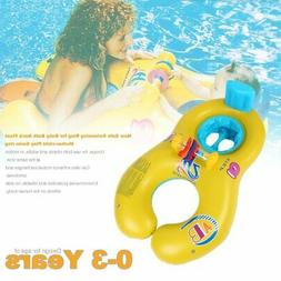 New Safe Swimming Ring for Baby Bath Neck Float Mother-child