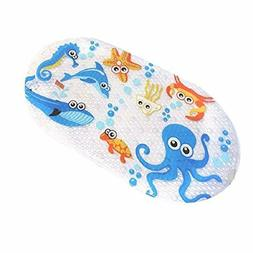 Non Slip Baby Bath Mat with Suction Cups for Tub, Shower Ant