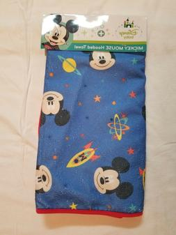 NWT Disney Baby - Mickey Mouse Hooded Bath Towel