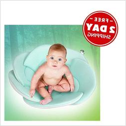 Organic Baby Bath Pillow Sponge Included Blooming Flower for