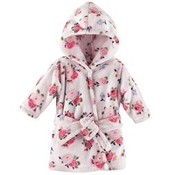 plush bath robe floral 0 9 months
