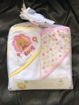 Disney Pooh Bath Set /towels