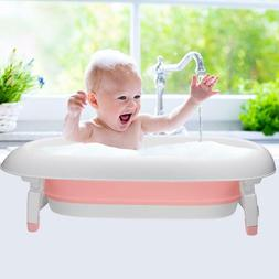 Portable Folding Baby bathtub Infant Baby Bathtub Bathing Sa