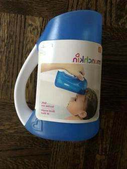 rinse shampoo rinser for baby blue
