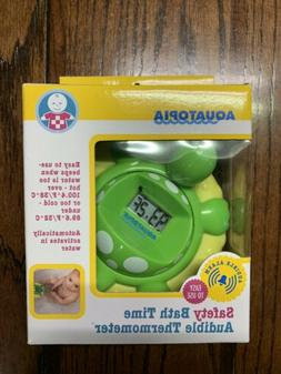 Aquatopia Safety Bath Time Audible Thermometer Brand New