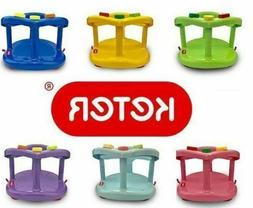 Safety Chair Anti Slip Bath Ring Baby Seat Tub Keter Infant