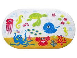 Salinka Ocean Anti Slip Baby Bath Mat Cartoon Fish Kid Batht