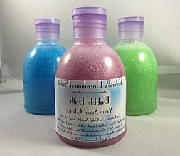 Scented BUBBLE BATH 5.5oz bottle fragrance Smells GREAT! Lot